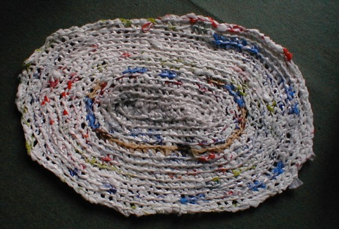 Crocheting With Plastic Bags : crocheting with plastic bags is just like crocheting with any other ...